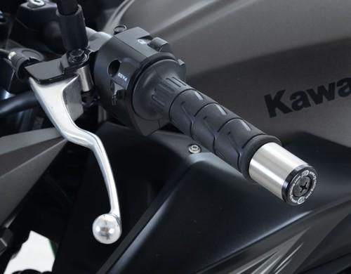 Kawasaki ZX12 R R/&G Racing Bar End Sliders BE0001BK Black