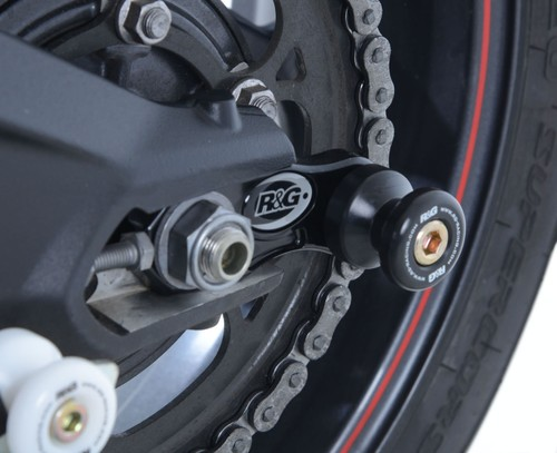 R/&G Racing CR0032BK Rear Cotton Reel Axle Slider