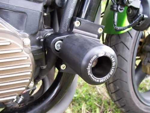 All Years R/&G RACING Paddock Stand BOBBIN Hooks 12mm DIAMETER Kawasaki ZRX1100